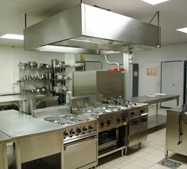 Commercial Kitchen Area